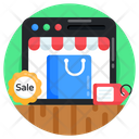 Ecommerce Online Sale Online Shopping Icon