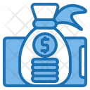 Money Bag Digital Payment Icon