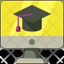 Online School Online University Online Education Icon