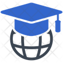 Education Global Graduation Icon