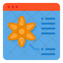 Browser Science Learning Icon