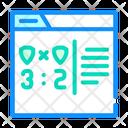 Online Game Score Icon