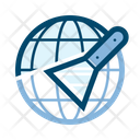 Online Scraper Icon