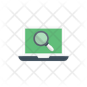 Search Find Laptop Icon