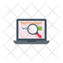 Search Dictionary Online Icon