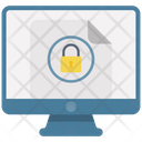 Online Secured Documents Icon
