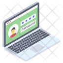 User Login Online Security Web Security Icon