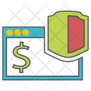 Online Security Internet Security Cyber Security Icon