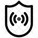 Security Signal Online Icon