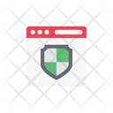 Online Security Webpage Icon