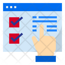 Online Select Select Hand Gesture Icon