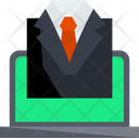 Online Select Suit Icon