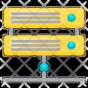 Online Server Net Network Icon