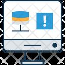 Online Server Rack Network Server Database Icon