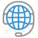 Online Service Global Globe Icon