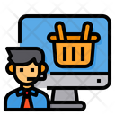 Consumer Online Shopping Icon