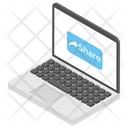 Online Sharing Data Sharing Media Sharing Icon