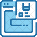 Online Shipping Web Icon