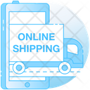 Online Shipping Icon