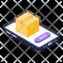 Logistics App Online Order Phone App Icon