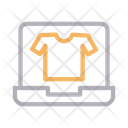 Online Shirt Icon