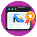 Ecommerce Online Product Web Shop Icon