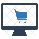 Buy Ecommerce Site Online Shop Icon