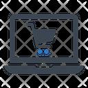 Computer Online Shop Icon