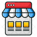 Webshop Ecommerce Online Shopping Icon