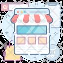 Online Shop Buy Online E Commerce Icon