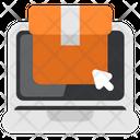 Quarantine Stayhome Onlineshop Ecommerce Icon