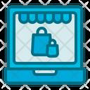 Online Shop Cyber Monday Icon