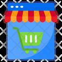 Online Shop Online Stoll Online Market Icon