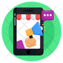Online Shop Advertising Icon