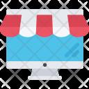 Online Shop Commerce Icon