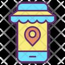 Monline Shop Location Online Shop Location Online Store Location Icon