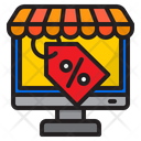 Online Shop Offer Icon