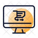 Online Shopping Ecommerce Computer Icon