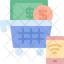 Shopping Online Smartphone Icon