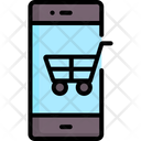Shopping Online Mobile Icon