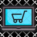 Online Internet Shopping Icon