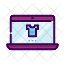 Business Online Shop Laptop Icon