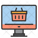 Ecommerce Online Store Marketplace Icon