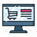 Online Shopping Product Detais Online Shopping Website Icon