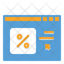 Online Shopping Web Shopping Sale Icon