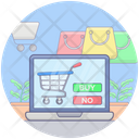 Online Shopping Cart Add Cart Ecommerce Icon