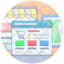 Online Shopping Online Store Ecommerce Icon