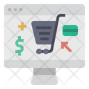 Online Shopping Cart Shopping Icon