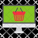 Online Shopping Basket Icon