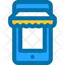 Online Shop Mobile Icon